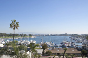 View from Glorietta Bay Inn.