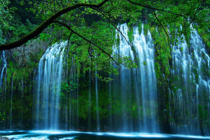 Waterfall near Tsasdi Resort.