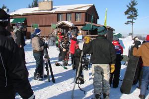 Skiing at Manilak Resort.