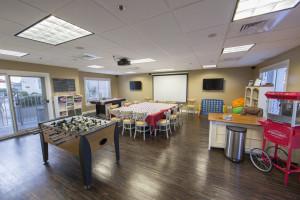 Kid's activity room at Holiday Inn Club Vacations Galveston Beach Resort.