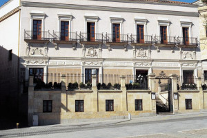 Exterior view of NH Palacio de Castellanos.