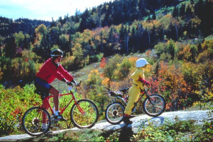 Biking at Best Western Acadia Park Inn.