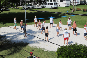 Volleyball at Miami Everglades.