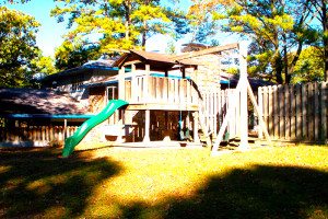 Playground at Brady Mountain Resort & Marina.