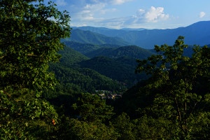 View from Westgate Smoky Mountain Resort.