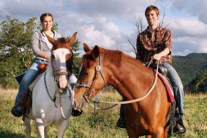 Horseback riding at ACE Adventure Resort.