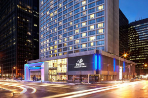 Exterior view of Delta Ottawa Hotel and Suites.