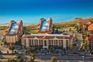 Aerial view of Westgate Lakes Resort & Spa.