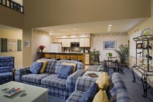 Club Villas accommodations at Sea Trail Resort.