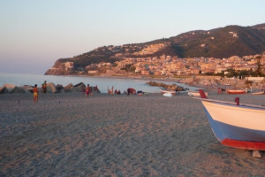 The beach at Borgo San Francesco.