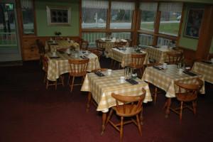 Breakfast area at The Arbor Inn.