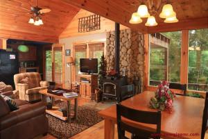 Rental interior at Enchanted Mountain Retreats, Inc.