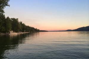 Lake view at Five Star Rentals of Montana.