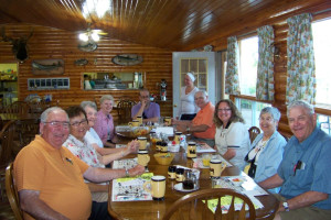 Family Dining at Canada North Lodge