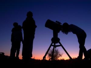 Stargazing at Pronghorn Resort.