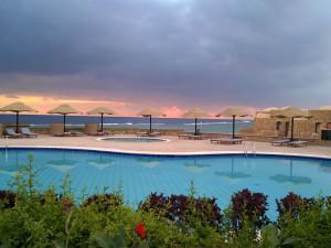Outdoor pool at Mövenpick Quseir Resort.