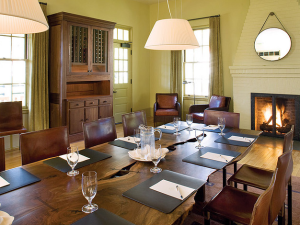 Meeting room at Cavallo Point Lodge.