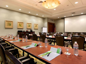 The Cabo Meeting Room at Hilton Suites Ocean City Oceanfront.
