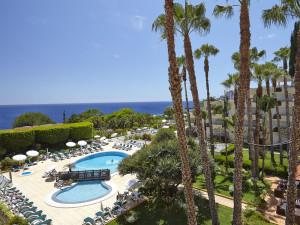 Outdoor pool at Eden Mar Suite Hotel.