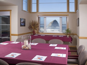 Conference room at Inn at Cape Kiwanda.