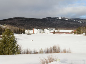 Winter time at Best Western Silver Fox Inn.