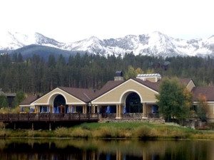 Exterior view of Breckenridge Discount Lodging.