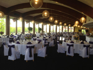 Wedding reception at Sunny Hill Resort & Golf Course.