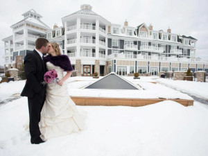 Wedding at JW Marriott The Rosseau Muskoka Resort & Spa.