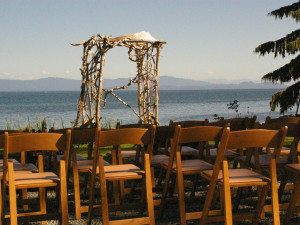 Wedding at Shady Shores Beach Resort.