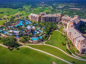 Aerial view of JW Marriott San Antonio Hill Country.