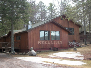 Exterior view of Reel Livin' Resort and Campground.