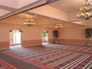 Events room at The Lodge at Santa Fe.