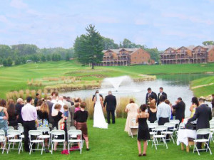 Wedding Ceremony at Northern Bay Golf Resort