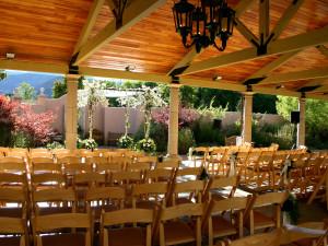 Wedding ceremony at The Broadmoor.