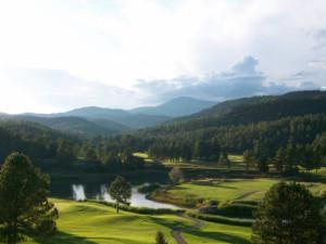 Golf course near The Casas of 4 Seasons.