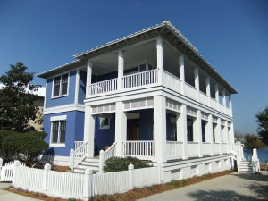 Rental exterior at Carillon Beach Rentals.