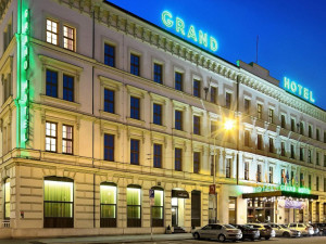 Exterior view of Grand Hotel Brno.