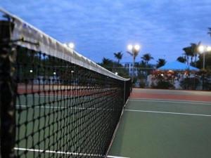 Tennis court at iTrip - Islamorada.