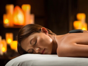 Spa massage at The Woodlands Resort and Conference Center.