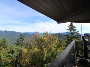 Deck view at The Mountain Club.