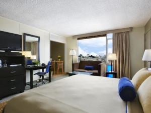 Guest room at Laurel Inn.
