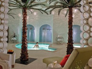 The spa at Riviera Palm Springs Resort & Spa.