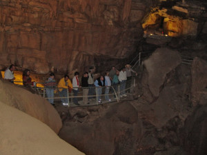 Cave walk at Mammoth Cave Hotel.