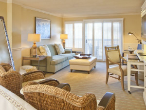 Guest room at Ocean Edge Resort & Golf Club.