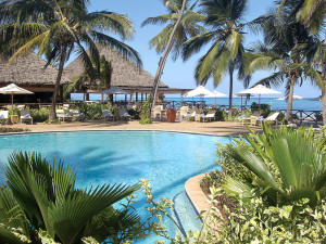 Outdoor pool at Fairmont Zanzibar.