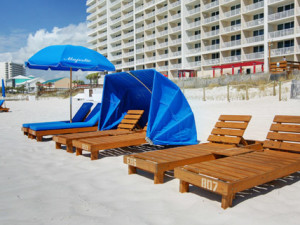 Beach chairs at Schulstadt Rentals.