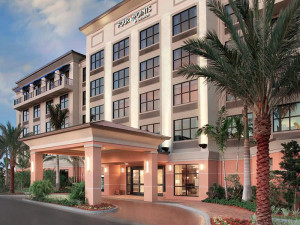 Exterior view of Four Points Sheraton Punta Gorda.