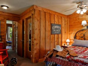 Guest room at Colorado Trails Ranch.