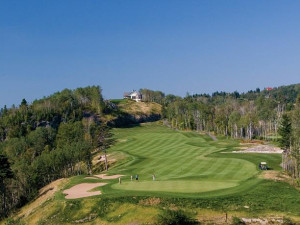 Golf course at Fairmont Le Manoir Richelieu.