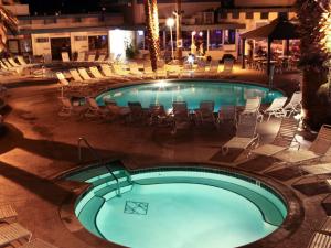 Outdoor pool at Desert Hot Springs Spa Hotel.